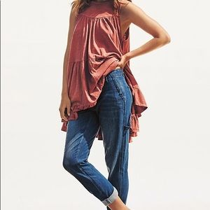Anthropologie Georgia Tiered Tank - NWT